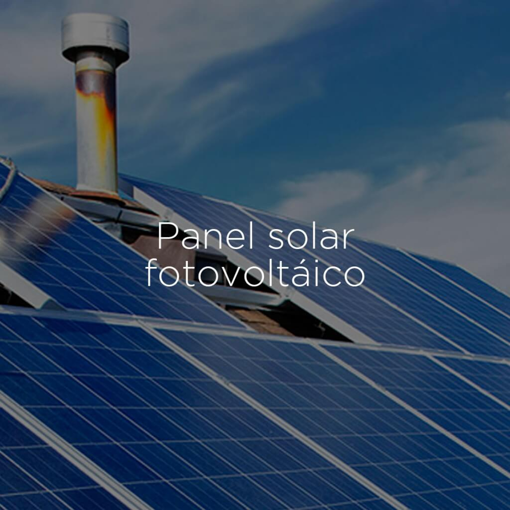 panel solar fotovoltáico