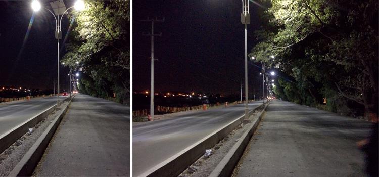 Proyectos Alumbrado Público con postes solares en Carretera 100 Querétaro