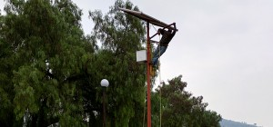 Proyectos de alumbrado público en Instituto Politécnico Nacional