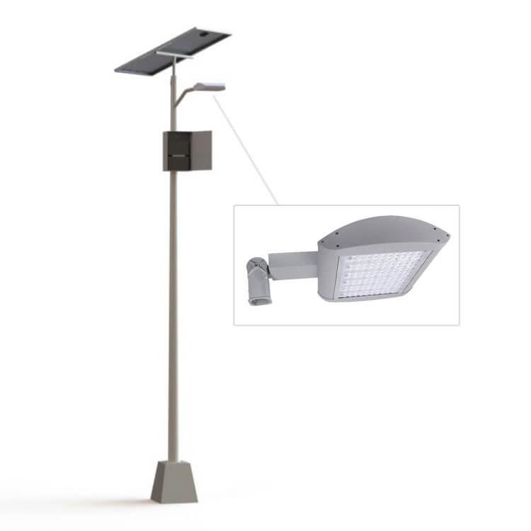 Postes Solares Fotovoltáicos