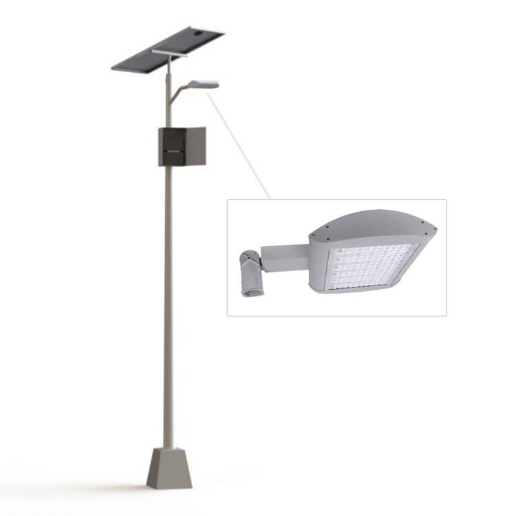 L mparas solares postes solares l mparas led for Luz solar para exterior