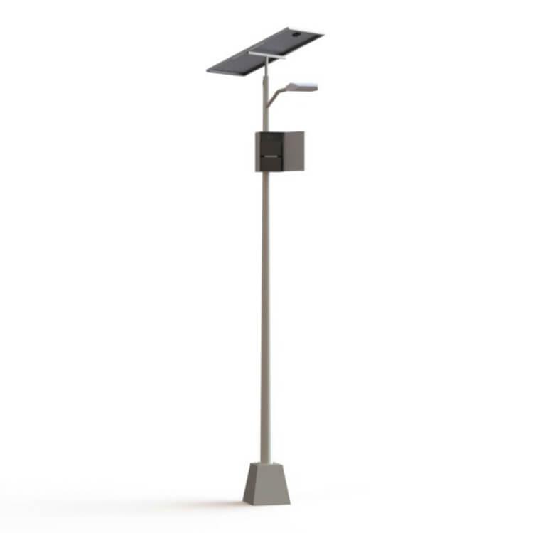 poste fotovoltaico
