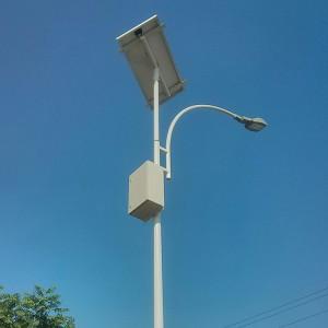 postes solares fotovoltáicos de lampara LED
