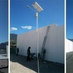 proyecto de alumbrado público con postes solares en zimapan