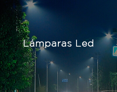 Lámparas LED
