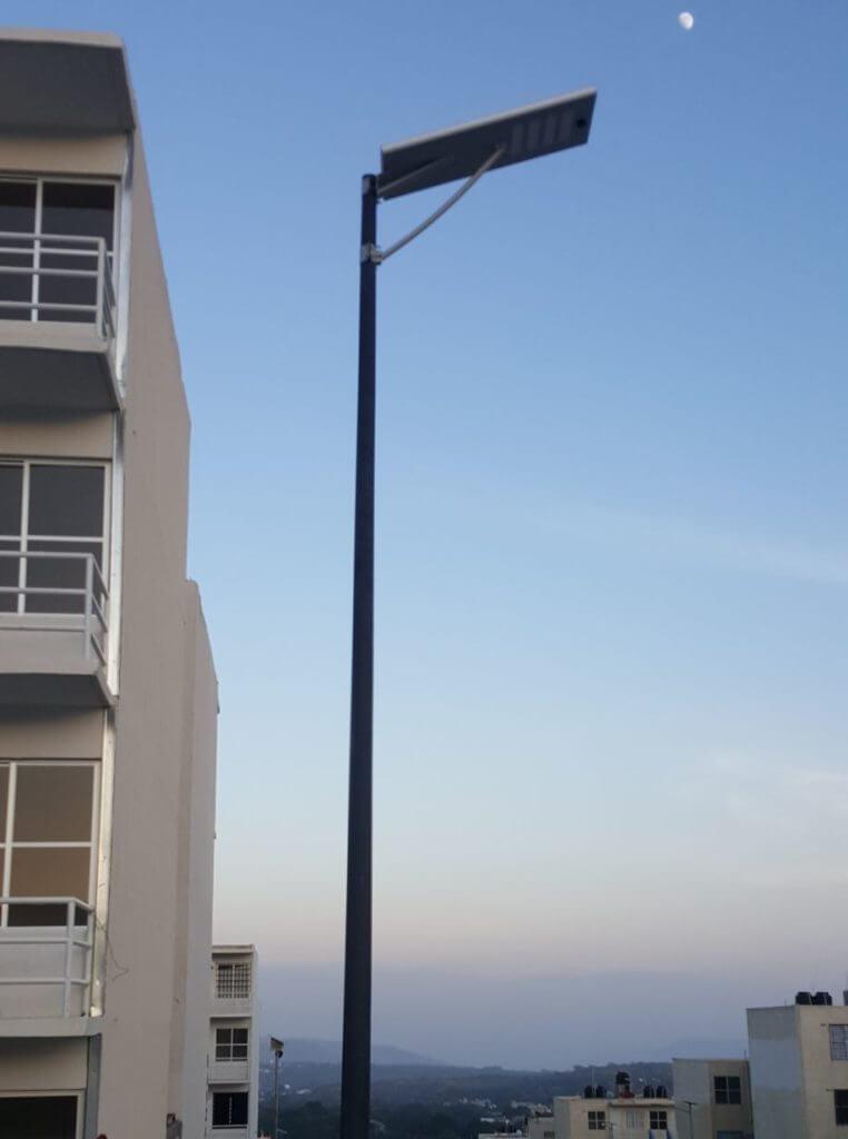 Postes luces led