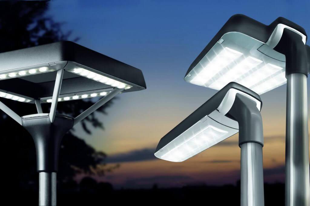 postes solares alumbrado público