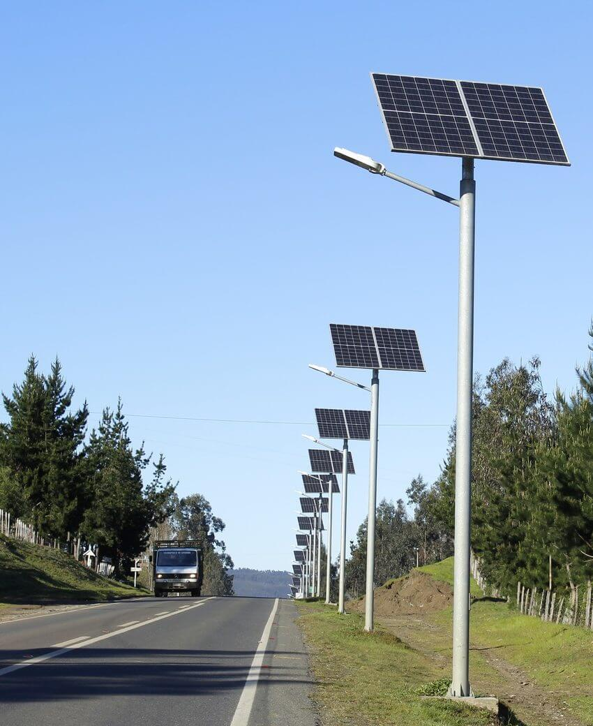 postes solares fotovoltaicos