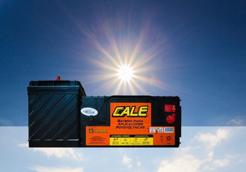 Baterías ciclo profundo para paneles solares 1