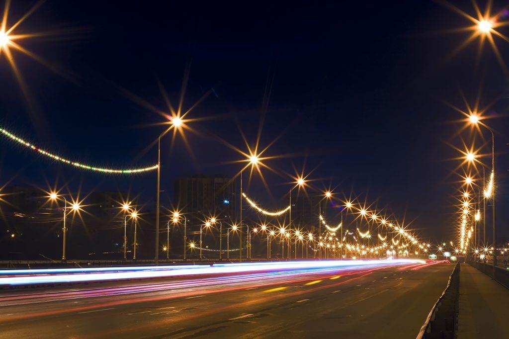Lámparas solares LED - alumbrado público