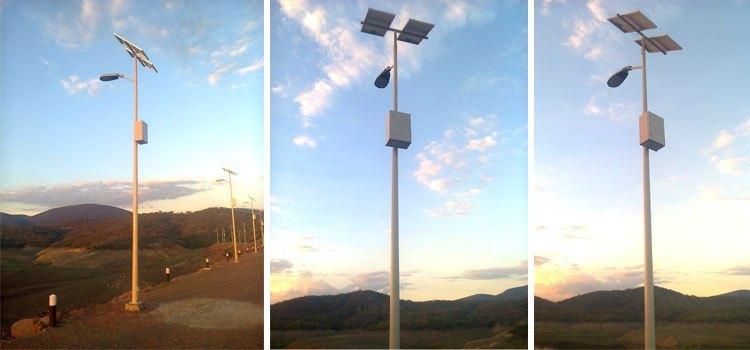 luminaria solar all in one - LedSolar
