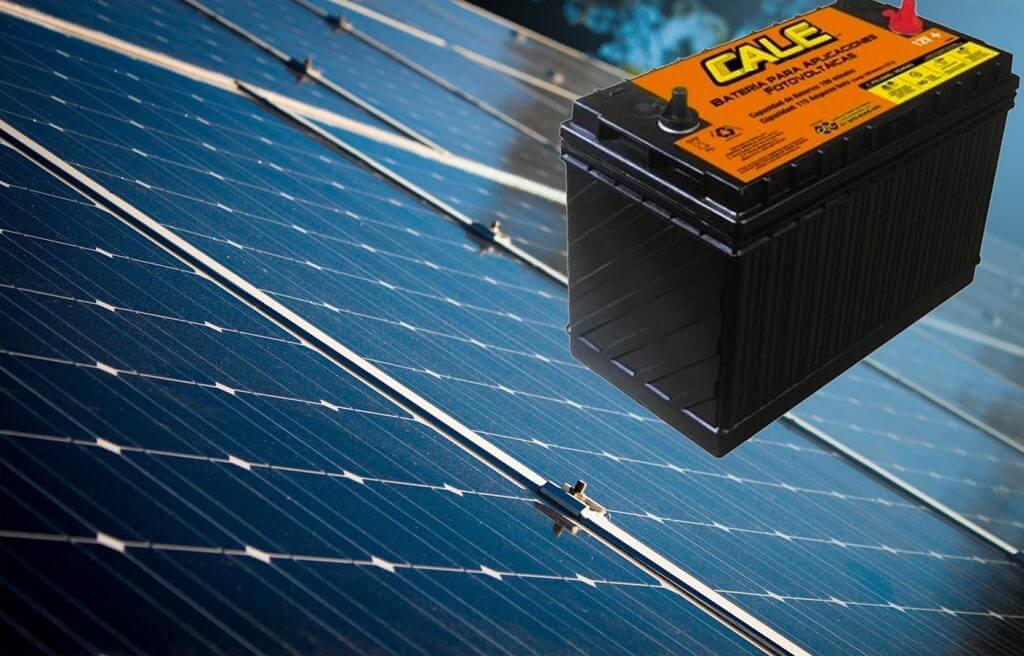 batería ciclo profundo para energía solar