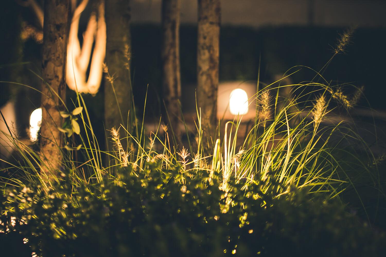 Luminarias solares para jardín