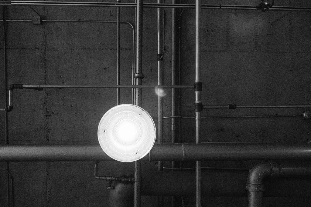 Lámparas LED para naves industriales