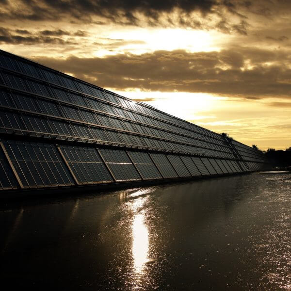 LED solar - paneles solares